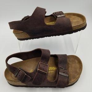 Brikenstock Women Brown Sandals sz 6